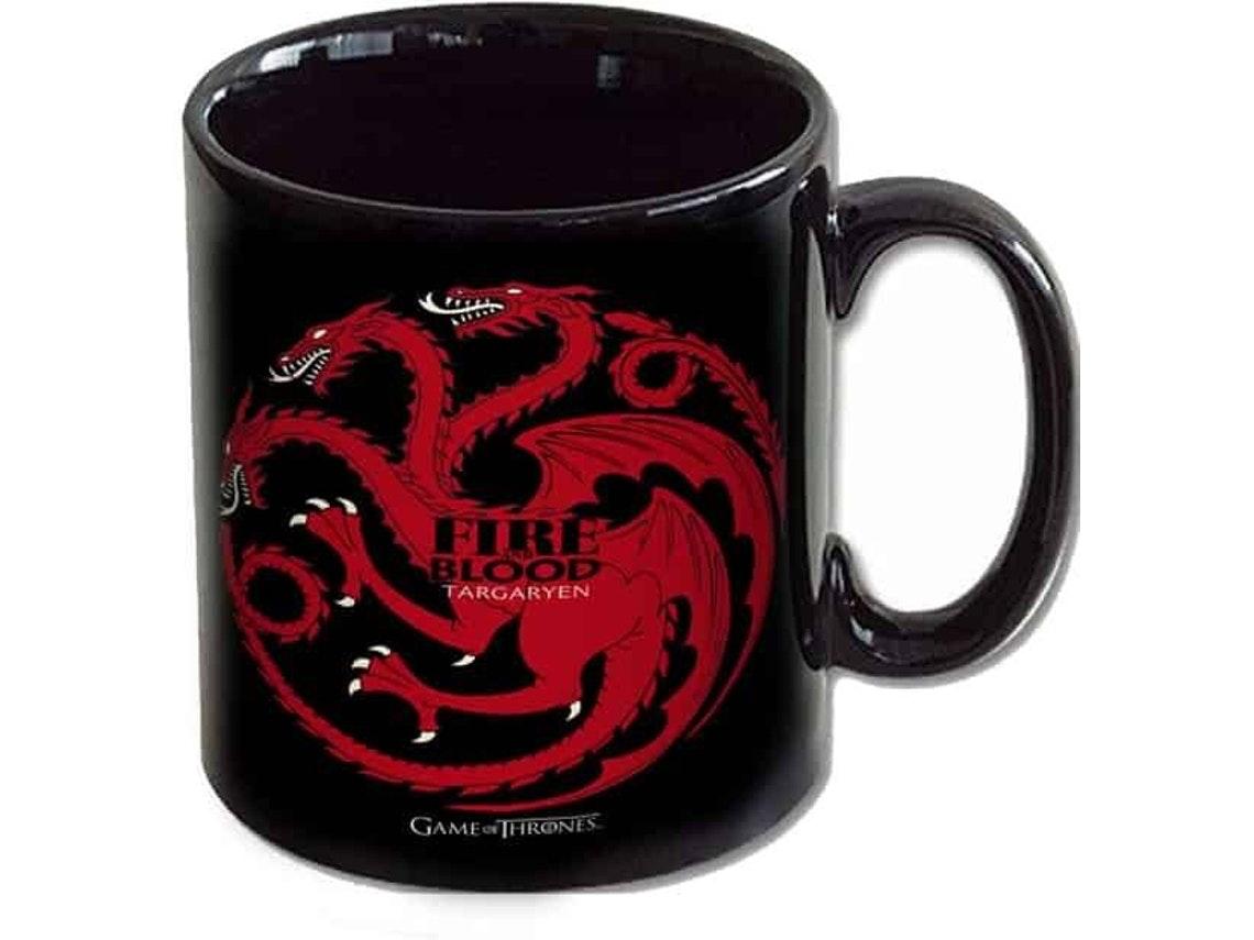 Caneca Game of Thrones Targaryen Fire & Blood, Worten, 9,77€