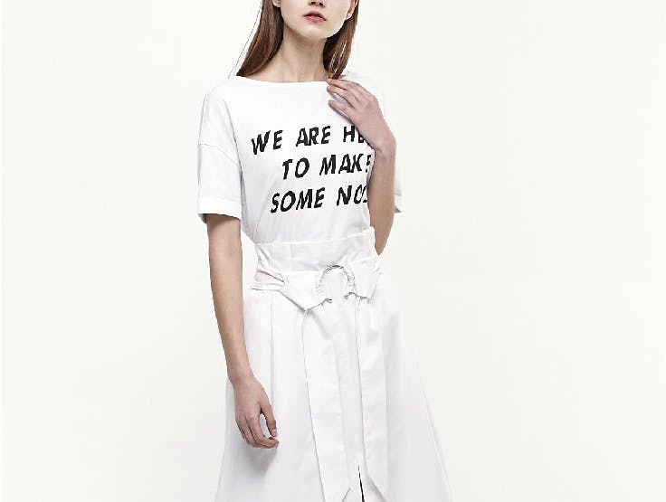 Las camisetas con mensaje son tendencia