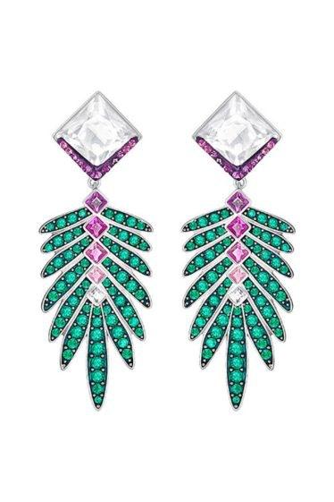 Swarovski-Gisele-Pierced-Earring-Jackets-Green-5266288-W600
