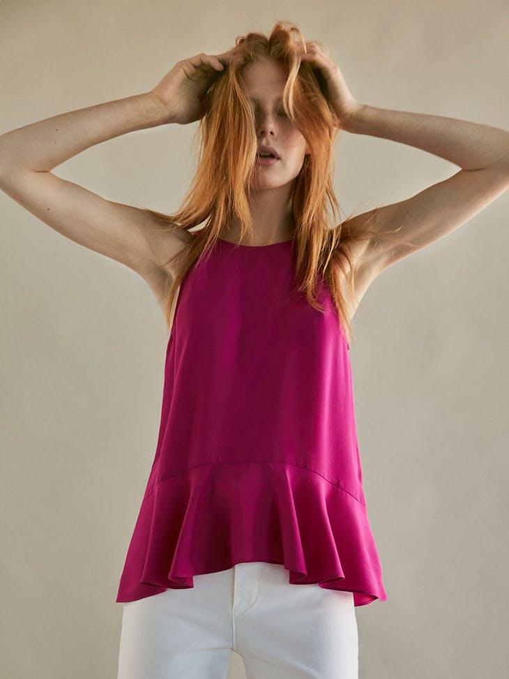 mayor selección de compras buscar genuino Los volantes reinan en las blusas de fiesta