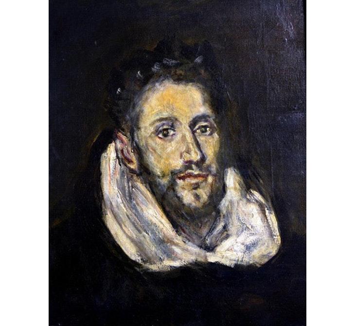 El Marqués de la Vega-Inclán, pinto
