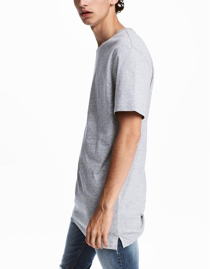 camisetas largas