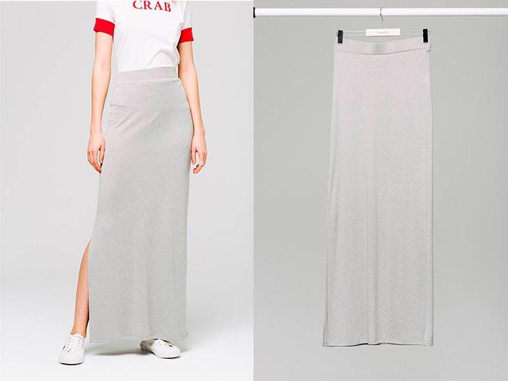 3 outfits con los que combinar tus faldas largas