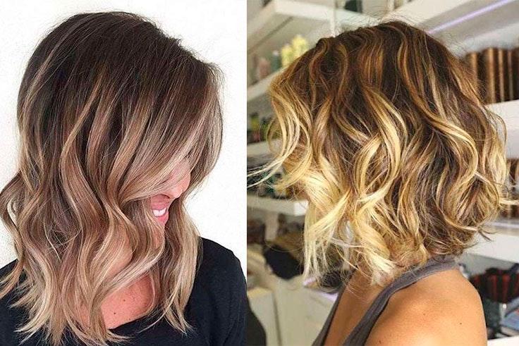 Peinados con ondas para pelo corto