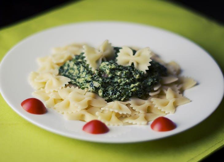 recetas con espinacas