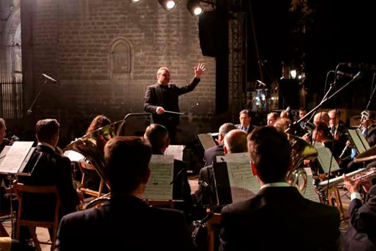Miércoles 15 de agosto - Concierto Banda Sinfónica Ciudad de Toledo