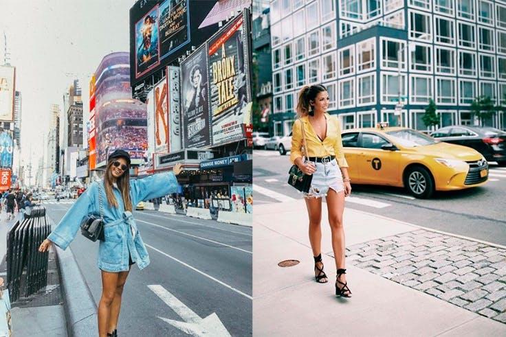 Los jeans están de moda en el estreet style de Nueva York