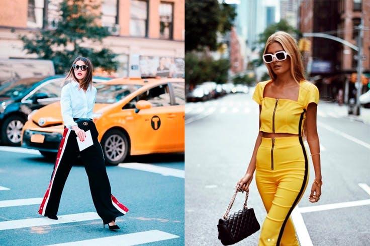 Chandal en los looks street style de Nueva York