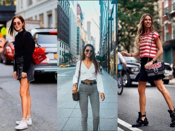 street style en la New York Fashion Week