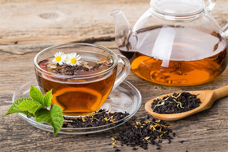 depuración con té