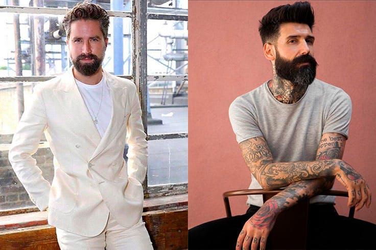 barbas famosos