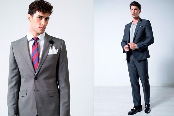 Tendencias trajes hombre