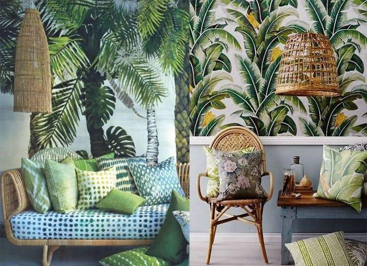 Cómo decorar una habitación con un toque tropical