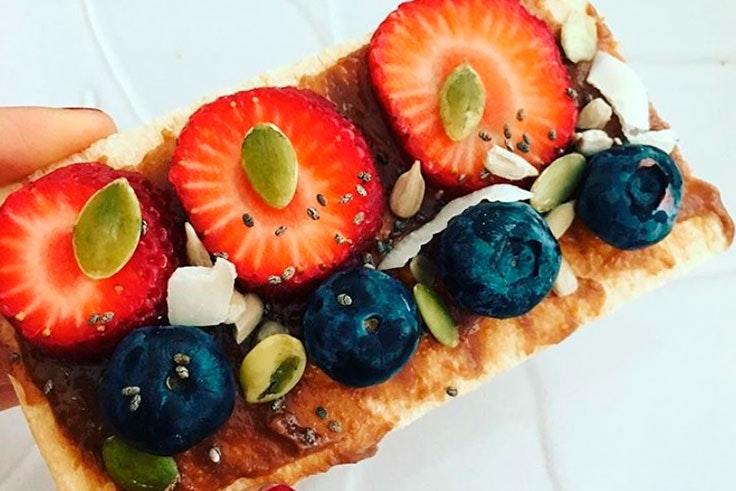 snack, alimentación, saludable