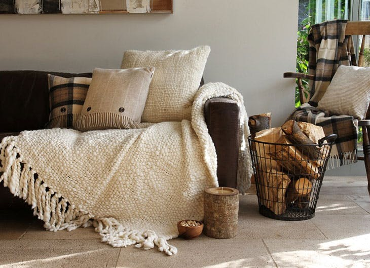 decoración hygge tendencia
