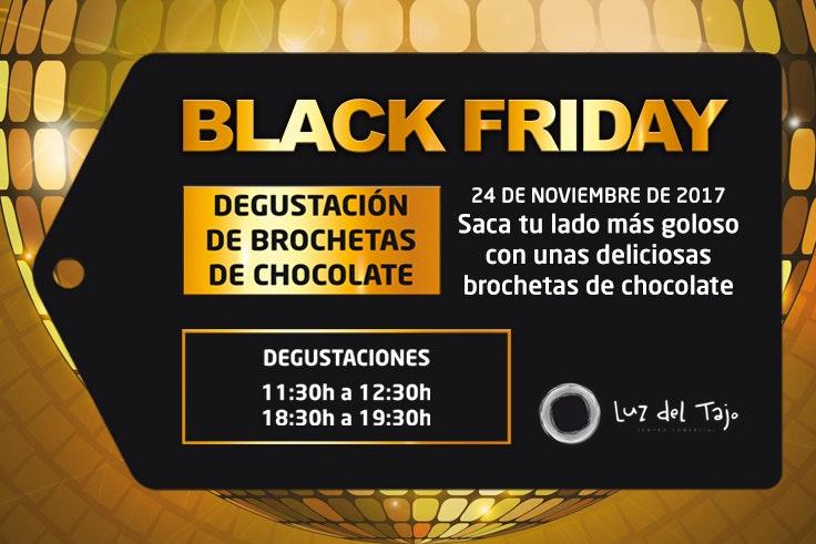 actividades Black Friday brochetas chocolate