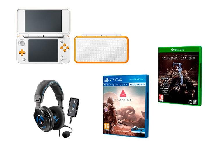 promociones videojuegos consolas