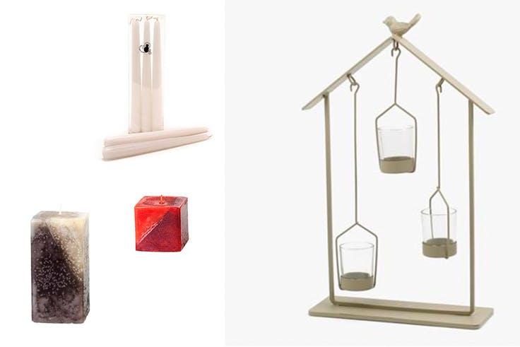 velas aromáticas decoración