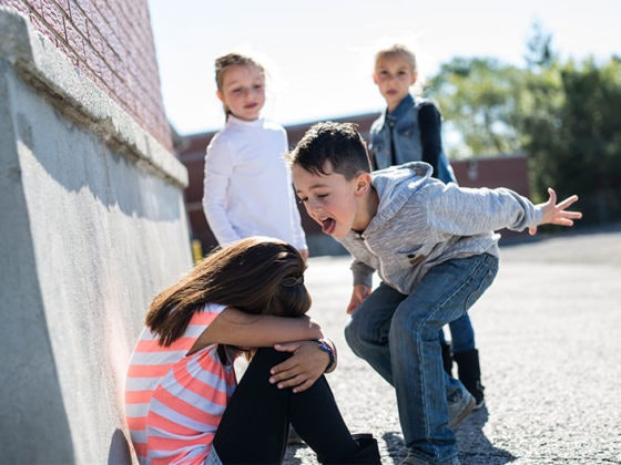 acoso escolar menores