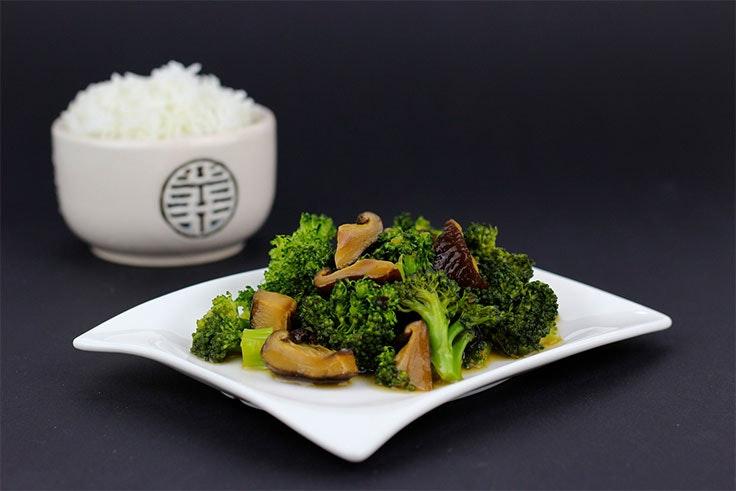 receta blócoli y arroz