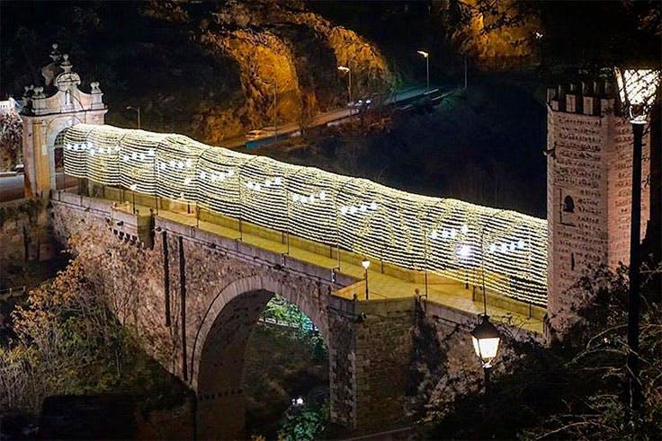 iluminación monumento Toledo