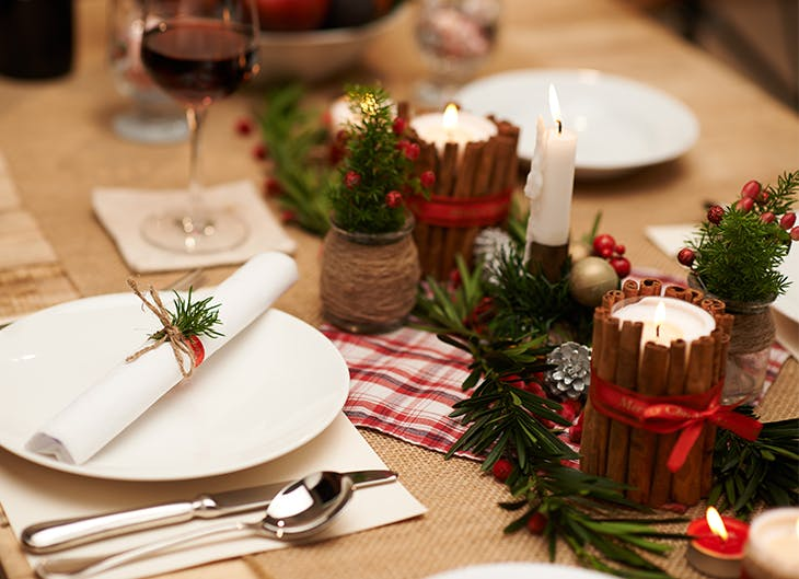 Las mejores ideas para decorar la mesa de navidad - Ideas para decorar la mesa de navidad ...