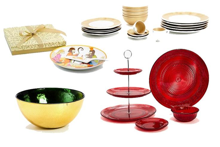 Las mejores ideas para decorar la mesa de navidad for Vajillas para navidad