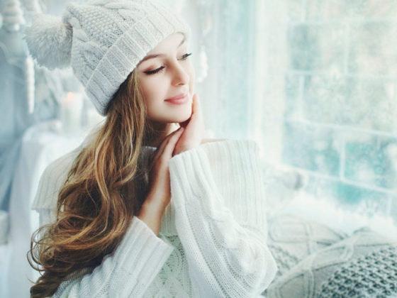 cuidado piel invierno belleza cosmética