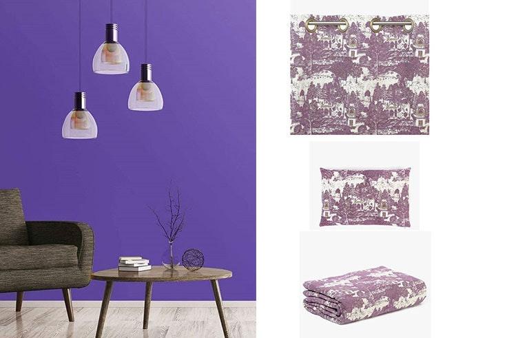 decoración hogar Ultra Violet