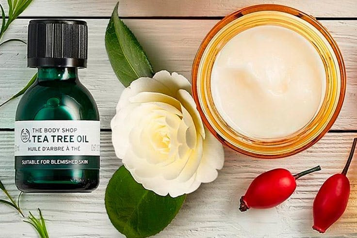 Oferta en productos cuidado de la piel The Body Shop