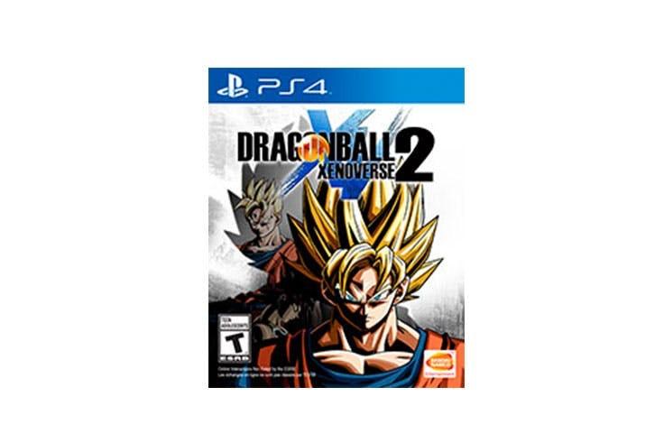 Promoción del videojuego Dragon Ball Xenoverse 2 de la tienda Game