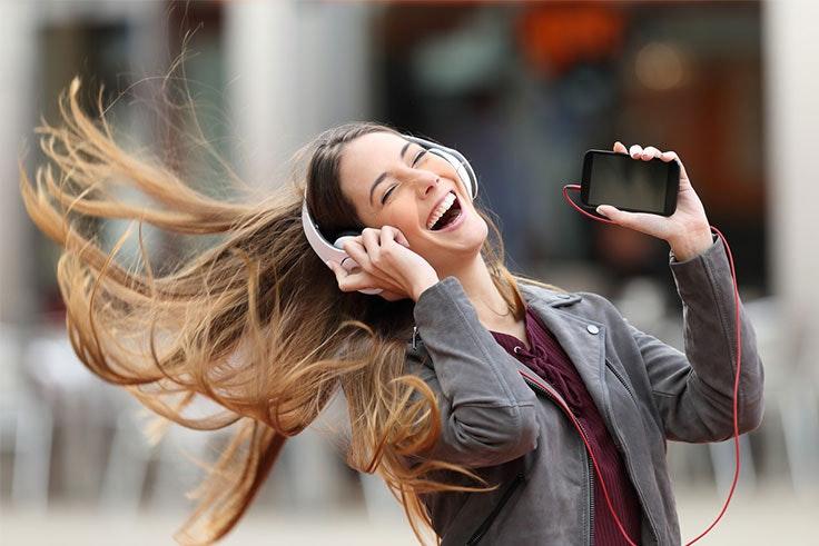 escucha musica