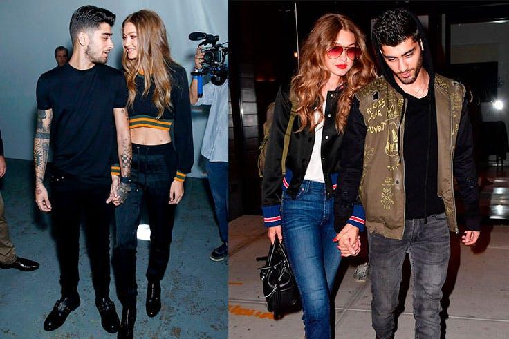 Los looks más destacados de de Gigi Hadid y Zayn Malik