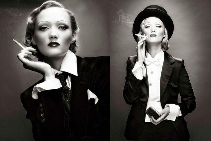 Los looks masculinos de Marlene Dietrich