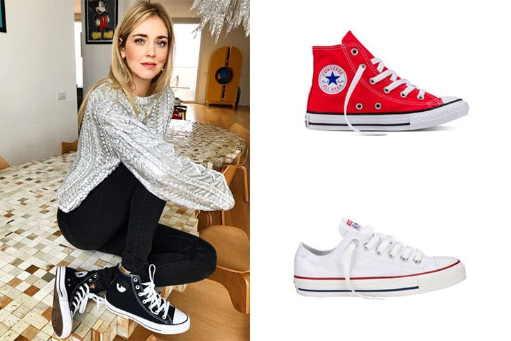 Tendencia de zapatillas Converse