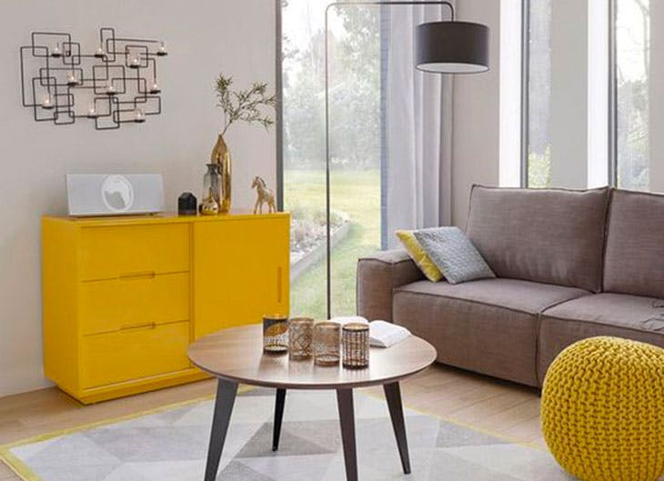Apuesta por la tendencia en decoración 'color block'