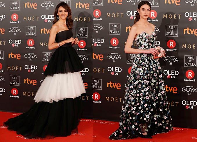 alfombra roja looks Goya