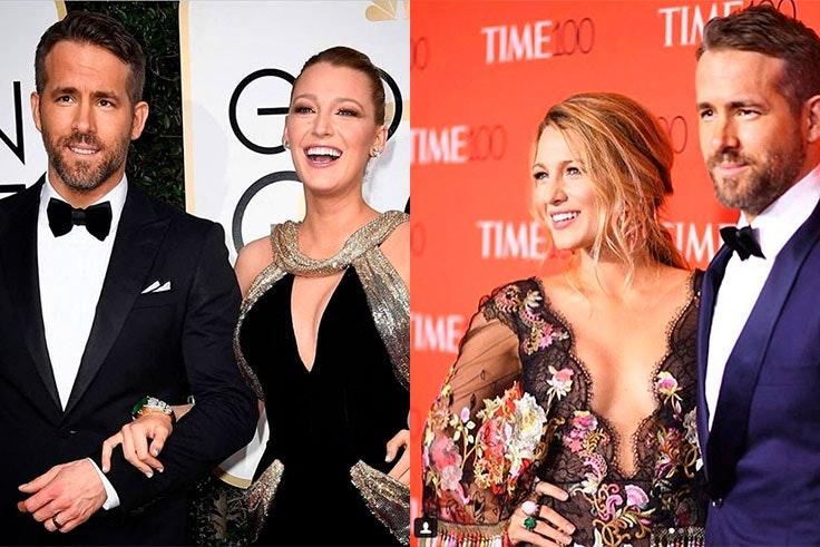 La elegancia de Blake Lively y Ryan Reynolds