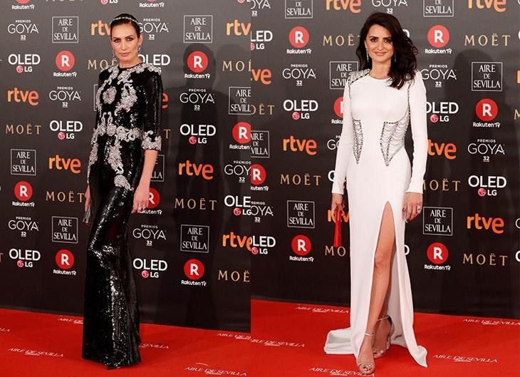 looks alfombra roja Goya