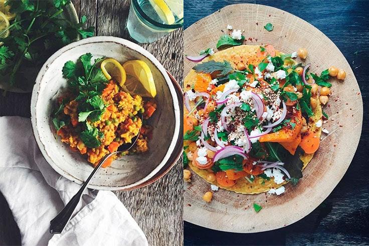 Recetas saludables de Sarah Britton en Instagram