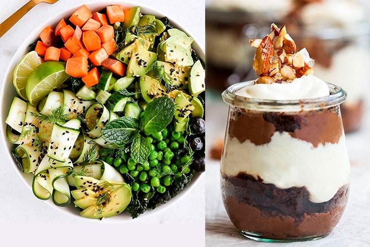 recetas saludables de la cuenta de Instagram de Sarah Wilson