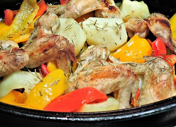 Cocina con el método batch cooking