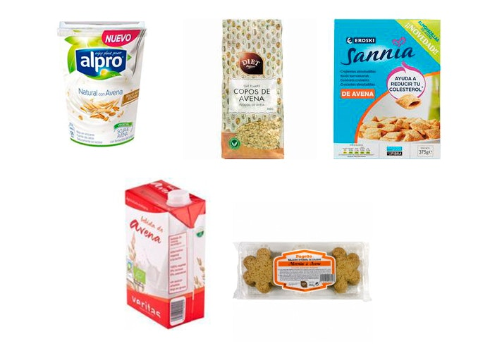Productos del supermercado Eroski