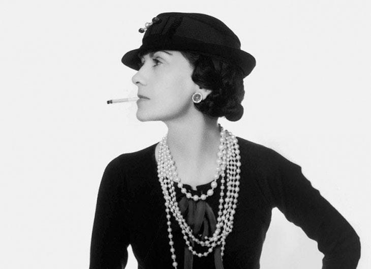 Coco Chanel, mujer influyente en el mundo de la moda