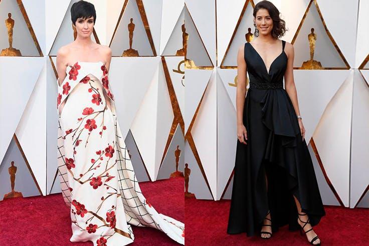 Looks de Paz Vega y Garbiñe Muguruza en los Premios Oscar 2018