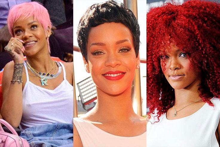 Los peores looks de Rihanna