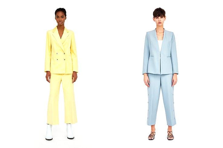 Prendas de Zara en tonalidades pastel