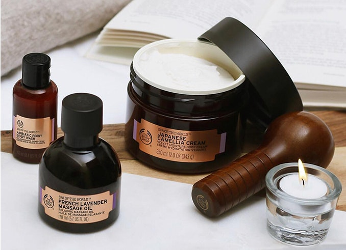 crema The Body Shop Slow beauty