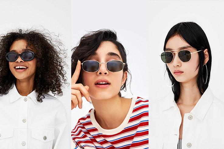 Pull&Bear: Gafas de Sol Ovaladas 9,99€ - Gafas de Sol Rectangulares 9,99€ - Gafas de Sol Aviador con Puente 9,99€