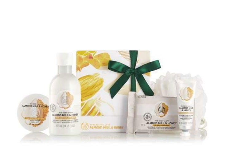 cremas de the body shop regalo